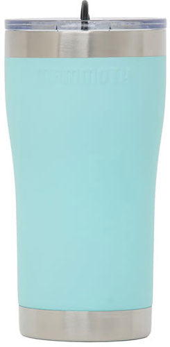 Mammoth 20 Oz Ss Sea Foam Grn - Tumbler W-lid & Rubber Stopper