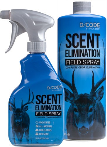D-code Scent Elimination Spray - Refill Combo 12fl Oz-32fl Oz