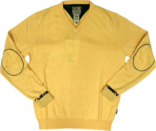 Beretta Men's Country Classic - V-neck Sweater Medium Yellow