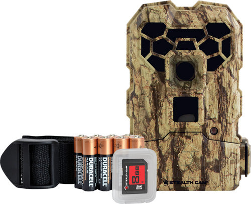 Stealth Cam Trail Cam Qs24ngk - Quick Scout 12mp No-glo Camo