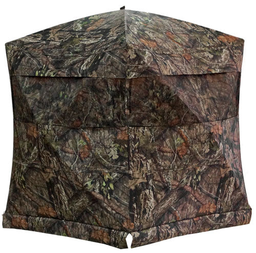 "Rhino Ground Blind Mossy Oak - Country 75""x75""-hub 66""-tall"