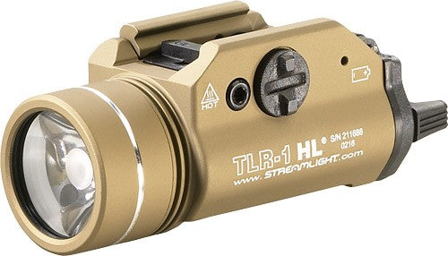 Streamlight Tlr-1 Hl C4 White - Led Light W-rail Mount Fde