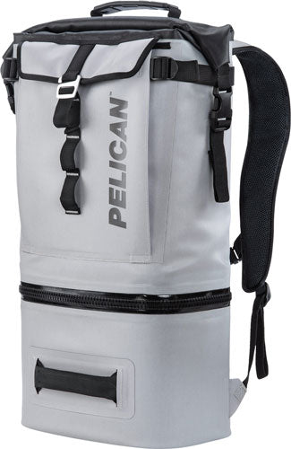 Pelican Soft Cooler Backpack - Compression Molded Grey