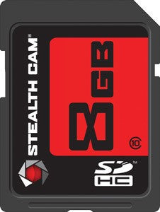 Stealth Cam Sdhc Memory Card - 8gb Super Speed Class 10