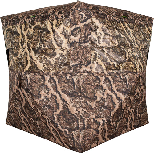 Summit Ground Blind Viper - 4-man Hub Style Veil Whitetail