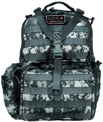 Gps Tactical Range Backpack - W-waist Strap Fall Digital Cam
