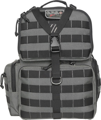 Gps Tactical Range Backpack - W-waist Strap Gray Nylon