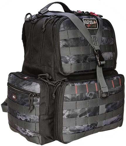 Gps Tactical Range Backpack - W-waist Strap Prym1 Blackout