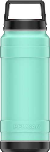 Pelican Traveler 32 Oz Bottle - Screw Top Ss Seafoam Green