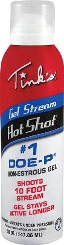 Tinks Deer Lure #1 Doe-p Non - Estrus Hot Shot Gel 5oz. Aero