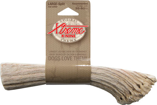 Moore Outdoors Xtreme K-nine - Chew Antler Split Large