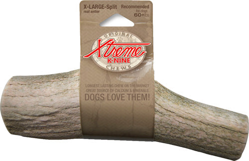 Moore Outdoors Xtreme K-nine - Chew Antler Split Xtra Large