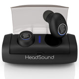 HeadSound H5 Powerful True Wireless Earbuds with 100Hr Playtime & 2600 mAh Capacity