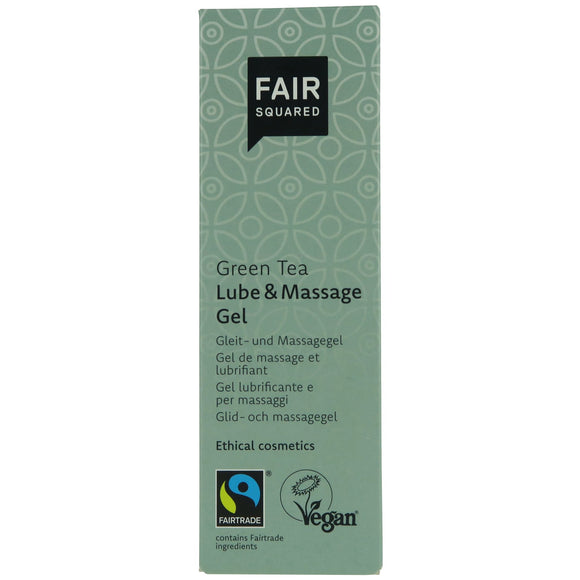 FAIR SQUARED Green Tea Lube and Massage Gel 150ml