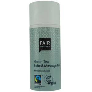 FAIR SQUARED Green Tea Lube and Massage Gel 50ml