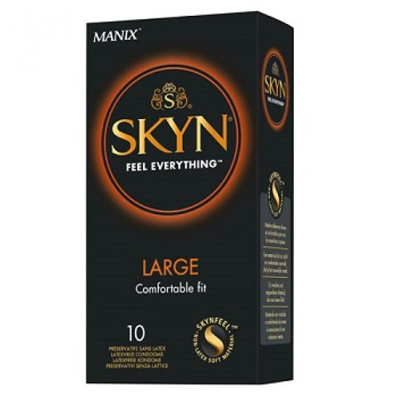 Skyn kondomer Large (Latexfri) - 10 stk