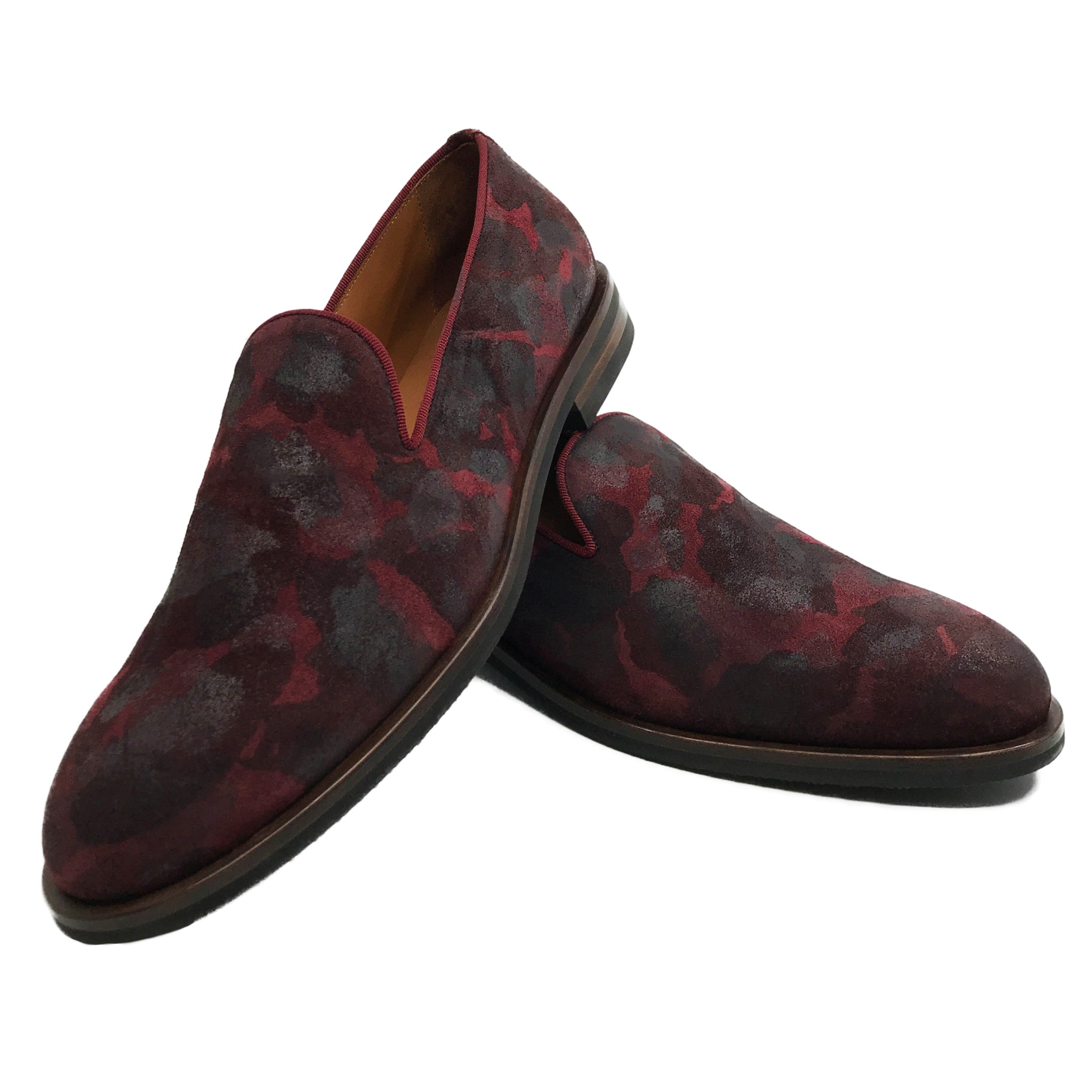 Sangue Loafers|Mens suede loafers