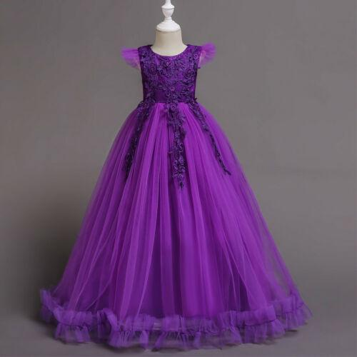 Flower Girl Dresses Wedding Formal Dresses Ball Gown Prom Birthday Holiday Party Bridesmaid