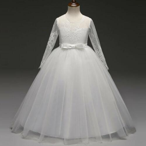 New Girl Wedding Dresses Bridesmaid Formal Graduation Birthday Party Princess Ball Gown