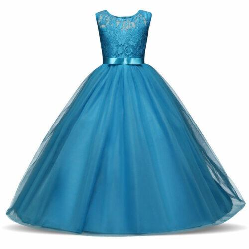 Flower Girl Dresses Princess Formal Birthday Pageant Holiday Bridesmaid Wedding Party Dress