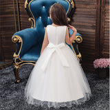 Girl Dresses Wedding Formal Ball Gown Birthday Holiday Party Bridesmaid Prom