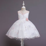 Kids Star Flower Girl Dresses For Wedding Party Holiday