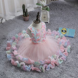 Flower Girl Dresses Toddler Kids Princess Wedding Birthday Holiday Party Wedding Formal