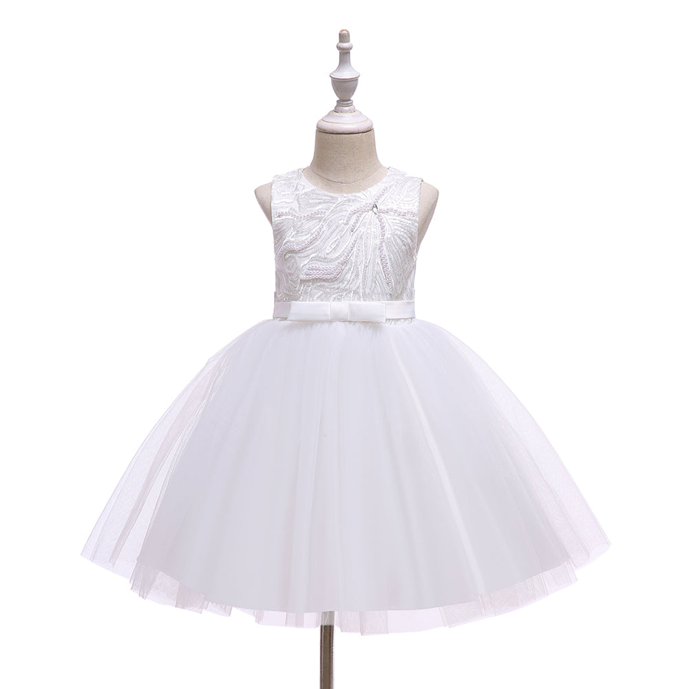 Baby Toddler Pearl Girl Wedding Dresses
