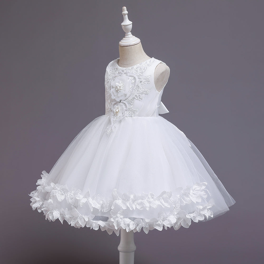 Flower Girl Dresses Kids Princess For Wedding Formal Graduation Party