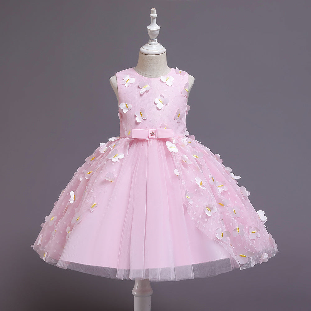 Baby Toddler Butterfly Flower Girl Dresses