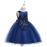 Flower Girl Dresses Toddler Kids Princess Wedding Bridesmaid Formal Graduation