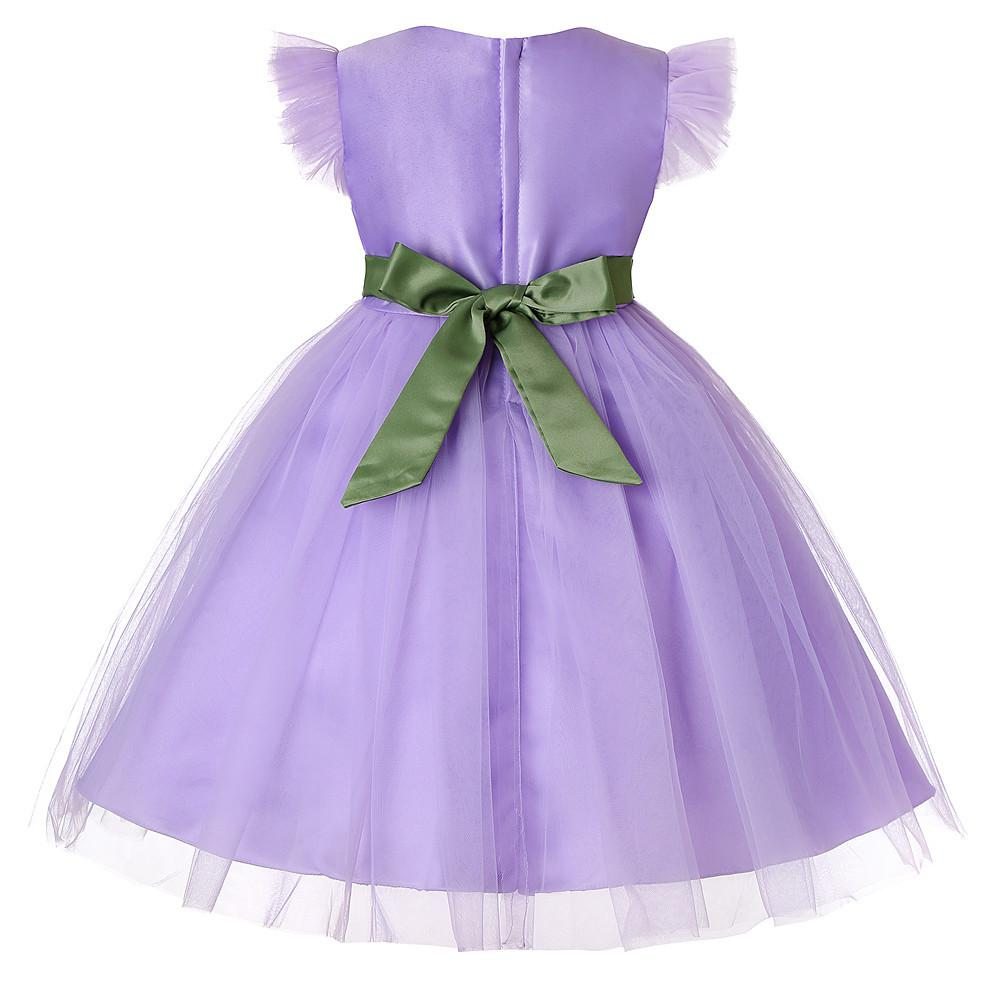 Flower Girl Dresses Toddler Kids Princess Formal Holiday Wedding Special Occasion