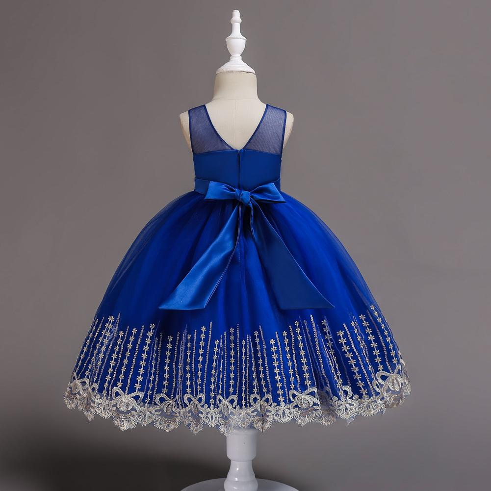 New Baby Little Girl Dresses Princess Kids Formal Birthday Holiday Party Bridesmaid