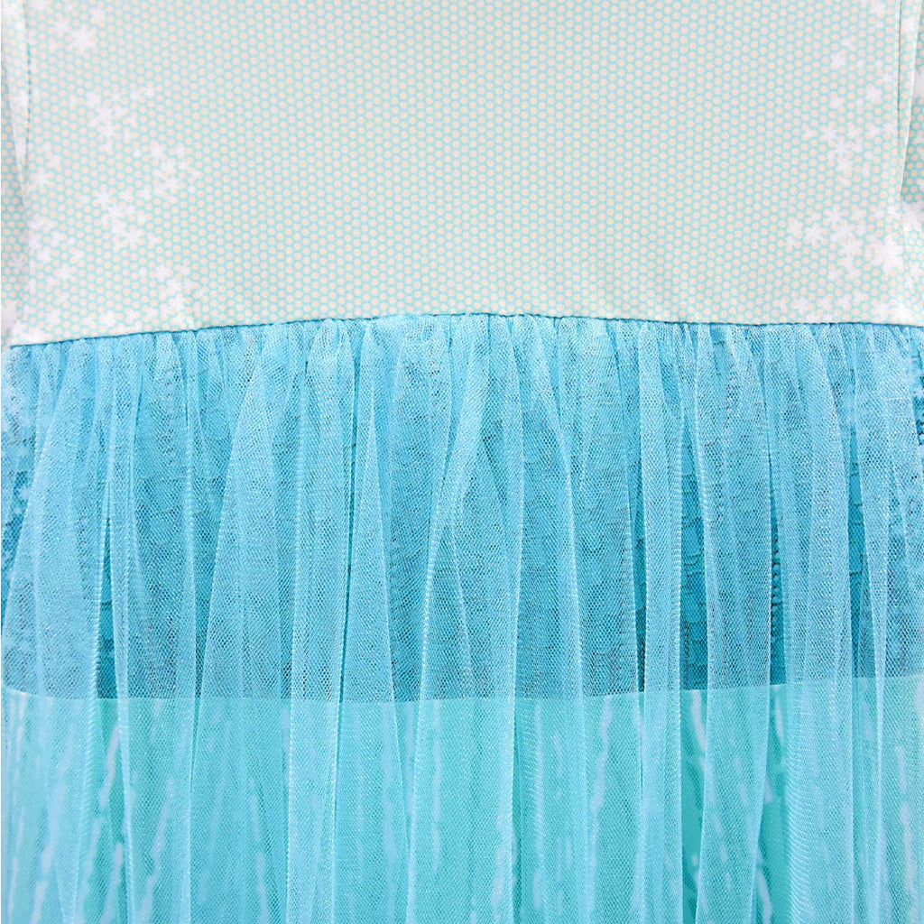 Frozen 2 Elsa Dress Girl Princess Tulle Cosplay Costume