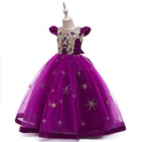 Flower Girl Dress Kids Princess Wedding GraduationTulle Formal Holiday Party Ball Gown