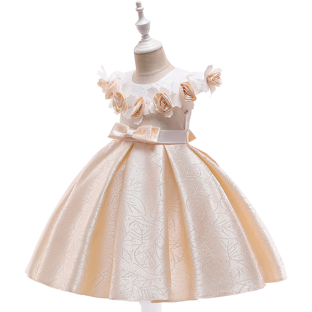 Flower Girl Dresses Toddler Kids Princess Wedding Bridesmaid Formal Birthday Party