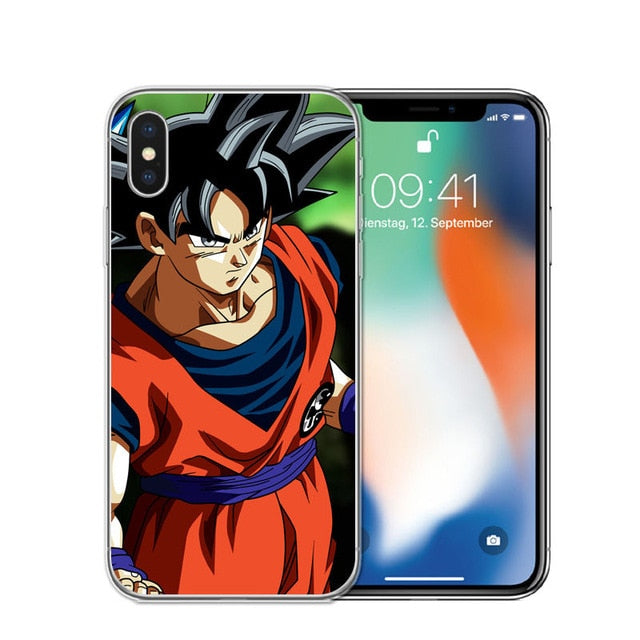DragonBall Super Goku iPhone Cases