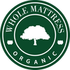 WHOLE Organic Latex Mattress Queen Size Mattress  Regular Length
