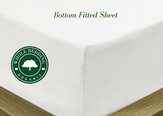 WHOLE Organic Adjustable  Mattress Sheet Twin Extra Long (XL) Adjustable Bed Mattress Sheet