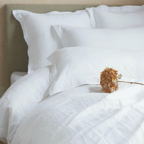 WHOLE Organic French Linen Duvet Set