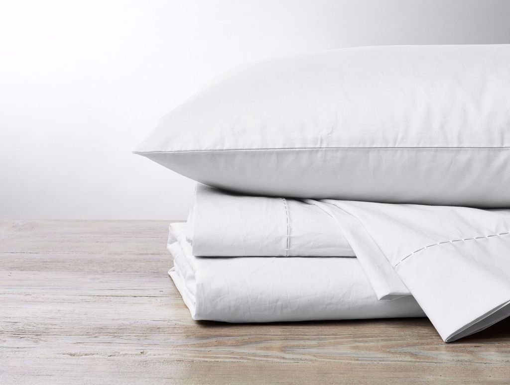 WHOLE Organic Pima Cotton 500 TC Percale Sheet Set