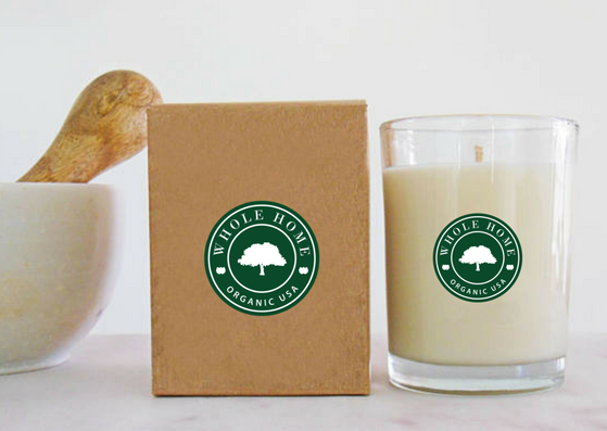WHOLE ORGANIC CANDLE by CALOR