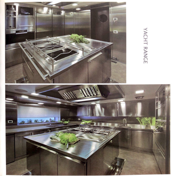 All Type Stainless Steel Kitchen Cabinet  Yacht Range Series