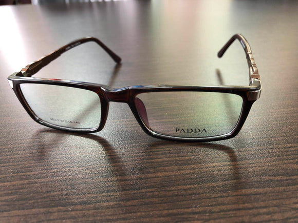 Woman Eyewear Dark Brown Eyeglasses 140