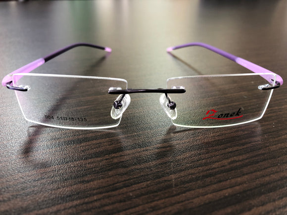 Zonek Eyewear Purple Eyeglasses 135