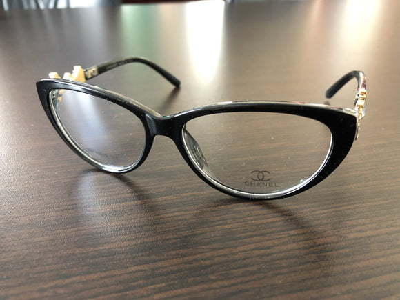 Women's Eyewear Yellow Flower Frame Eyeglasses