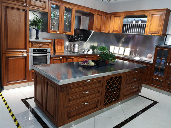 All Type Aluminum Kitchen Cabinet Sample