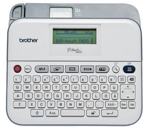Brother P-touch® PT-D400AD Versatile Label Maker with AC Adapter