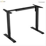 Sit-Stand 2-Stage Single-Motor Height Adjustable ADR Desk Frame Electric-Black