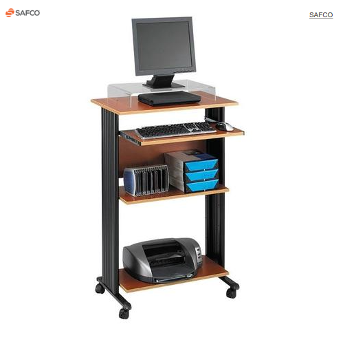 Safco® MÜV™ Fixed-Height Stand-Up Workstation
